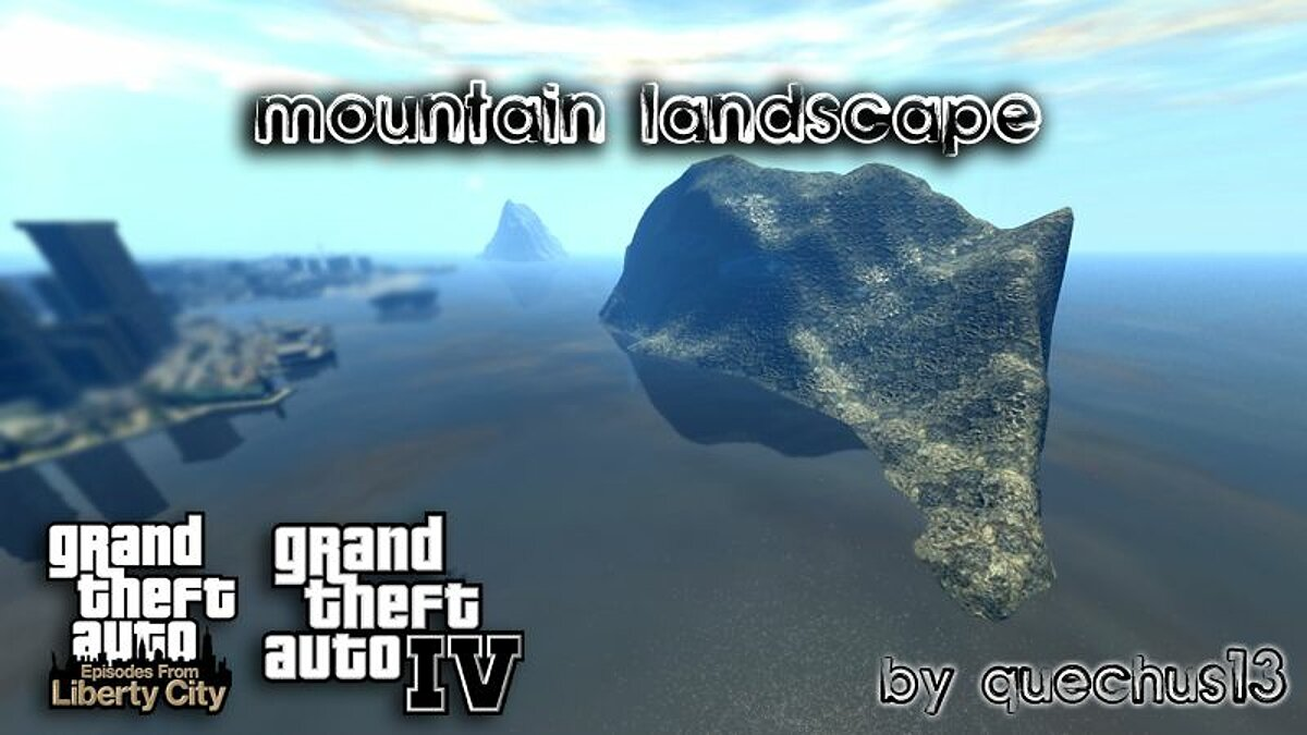 Mountain Landscape для GTA 4 - Картинка #1