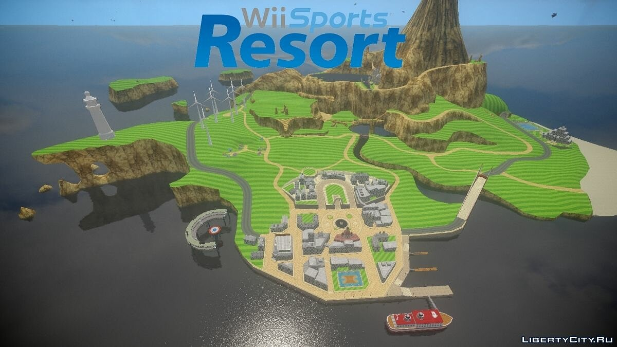 Wii Sports Resort - Wuhu Island [Beta] для GTA 4