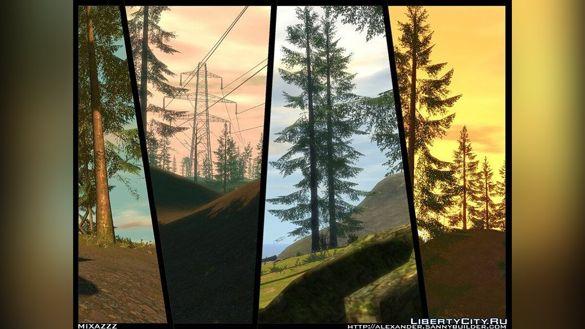 The Logger's Point для GTA 4