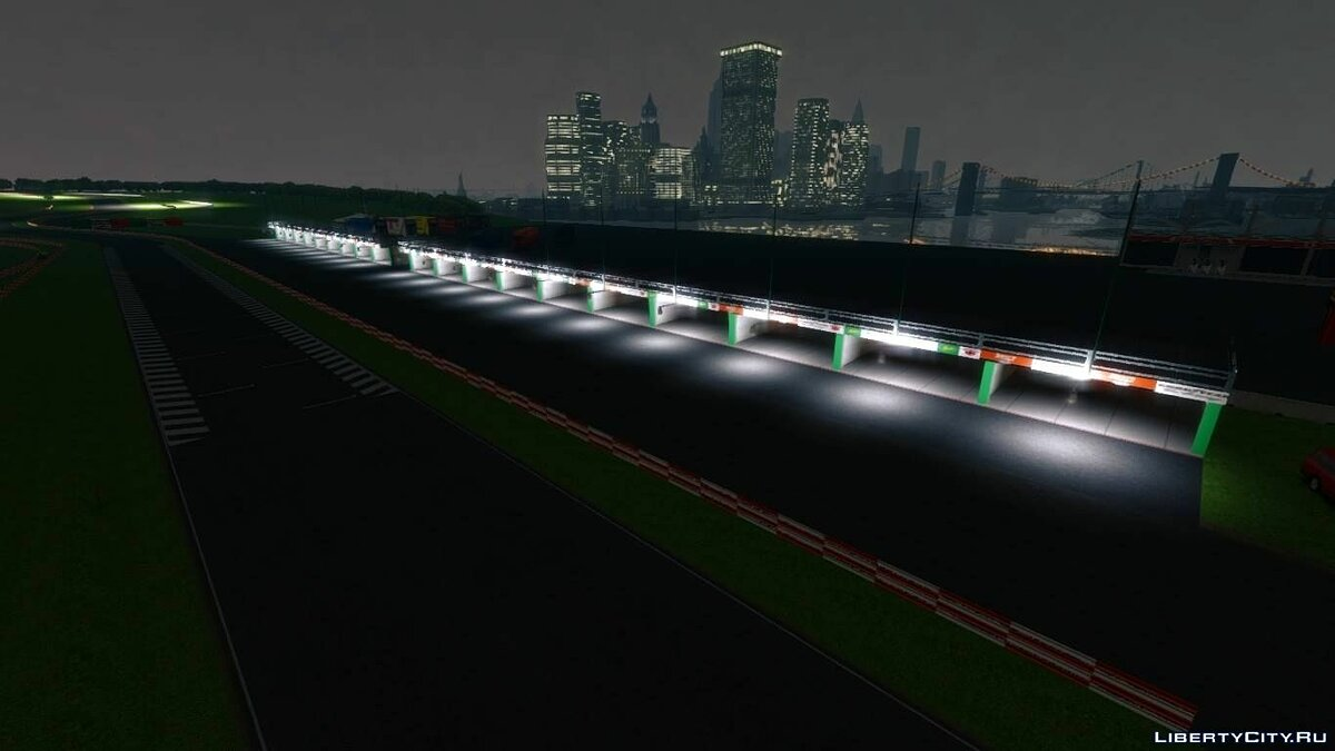 Новый остров Vairano Official Circuit для GTA 4