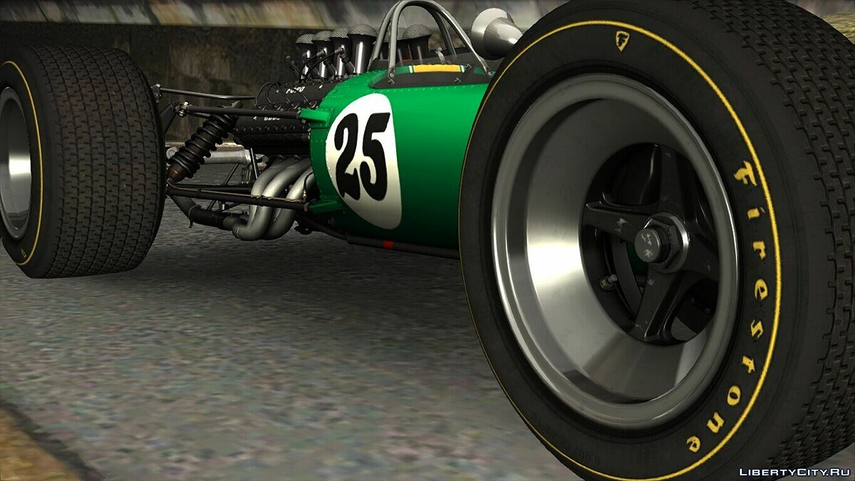 ��ашина Lotus 1967 Lotus Type49 [RIV] для GTA 4