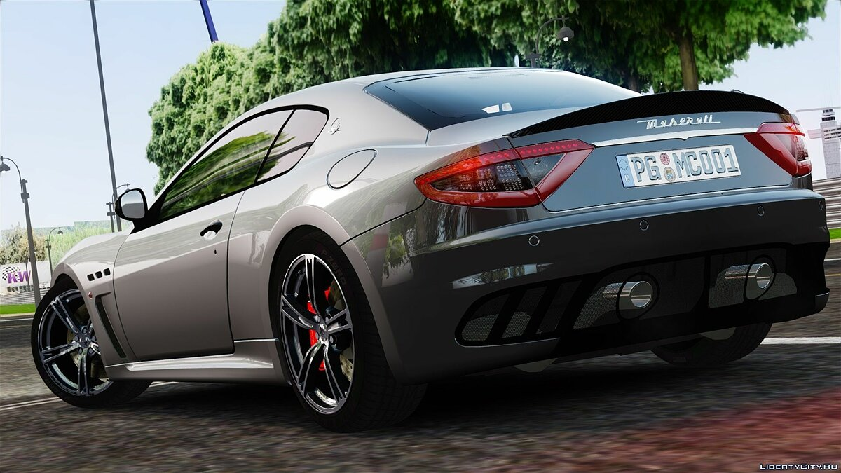2014 Maserati GranTurismo MC Stradale [Updated] для GTA 4 - скриншот #2