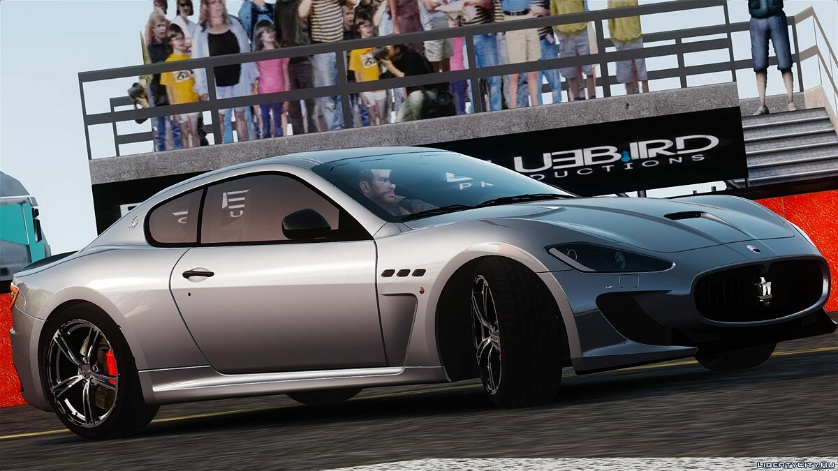 2014 Maserati GranTurismo MC Stradale [Updated] для GTA 4 - скриншот #3
