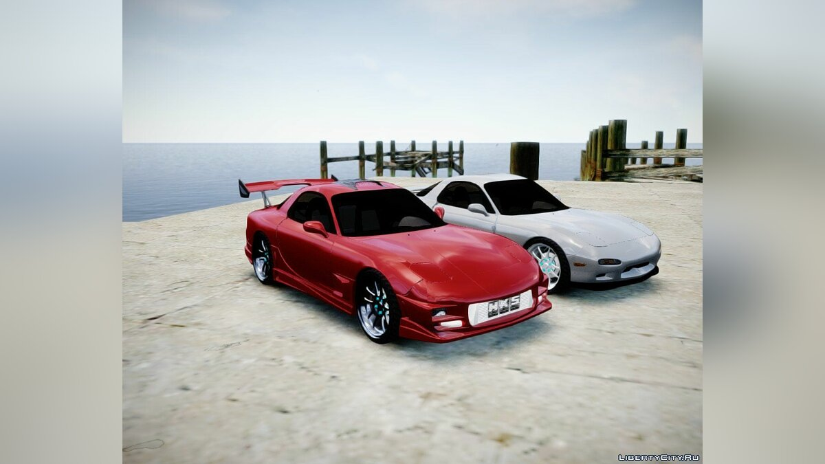1993 ''Mazda RX-7'' (With tunable parts) для GTA 4 - скриншот #4