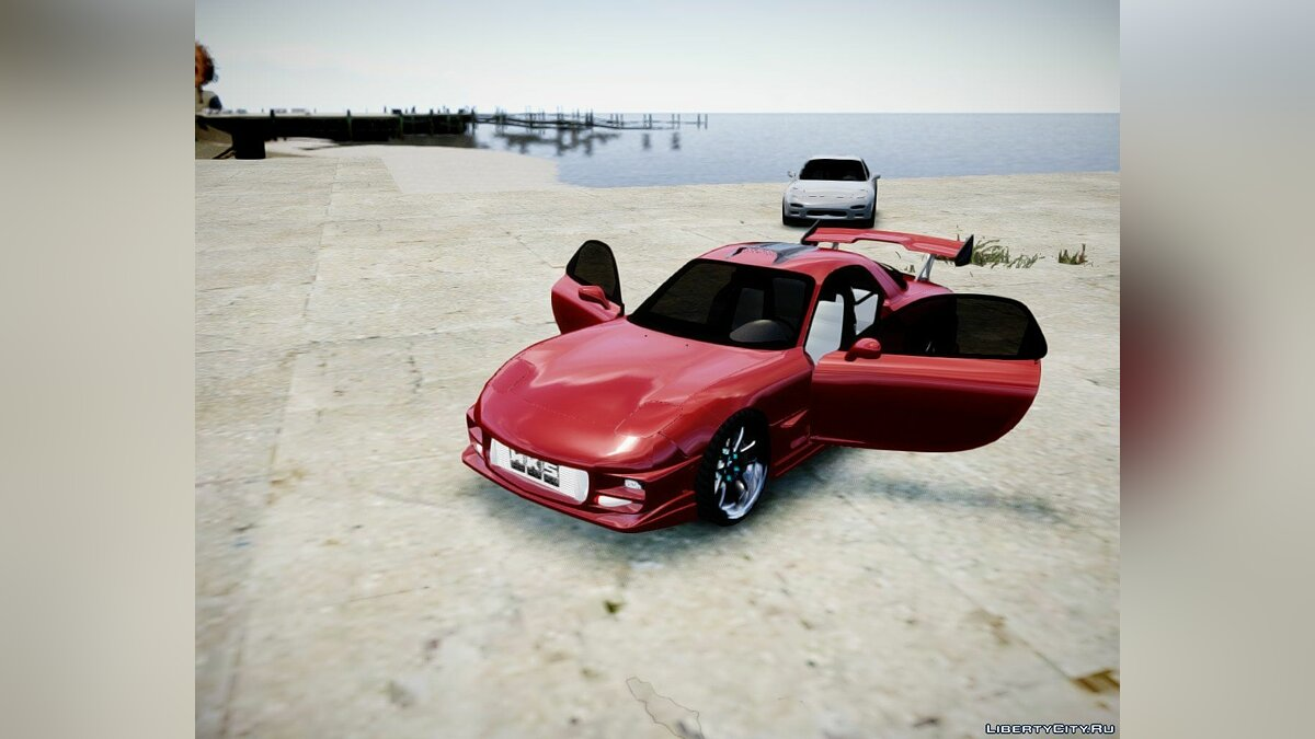 1993 ''Mazda RX-7'' (With tunable parts) для GTA 4 - скриншот #2