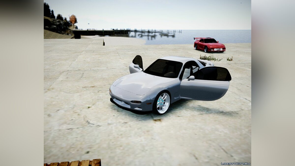 1993 ''Mazda RX-7'' (With tunable parts) для GTA 4 - скриншот #5