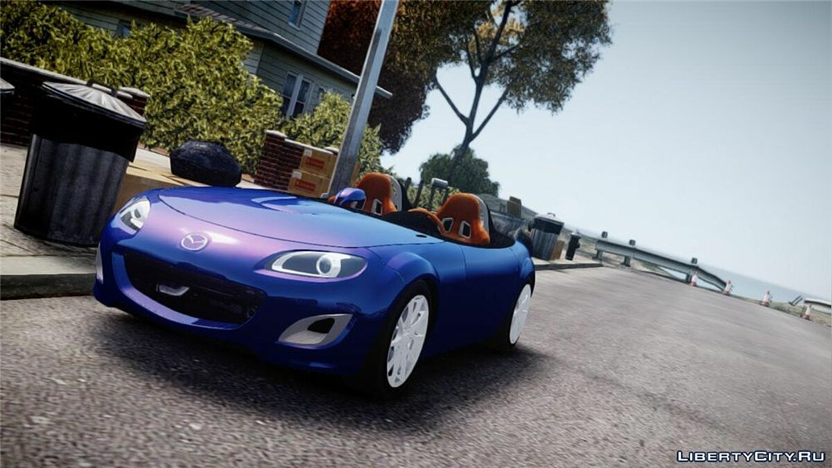 Машина Mazda 2009 Mazda Miata MX5 Superlight v1.0 для GTA 4