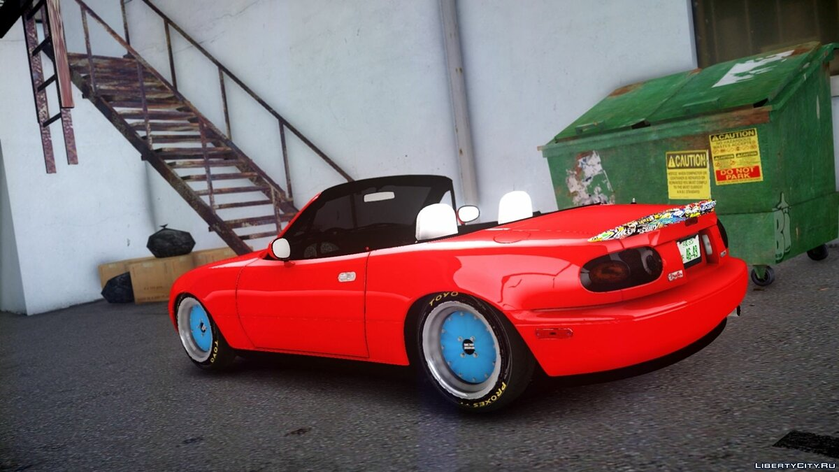 Машина Mazda Mazda MX5 Modified для GTA 4