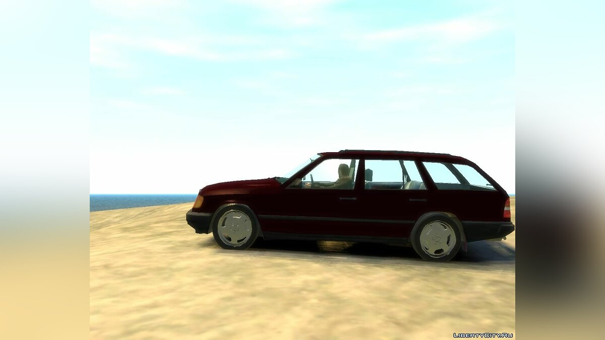 Mercedes-Benz W124 Wagon для GTA 4 - скриншот #3