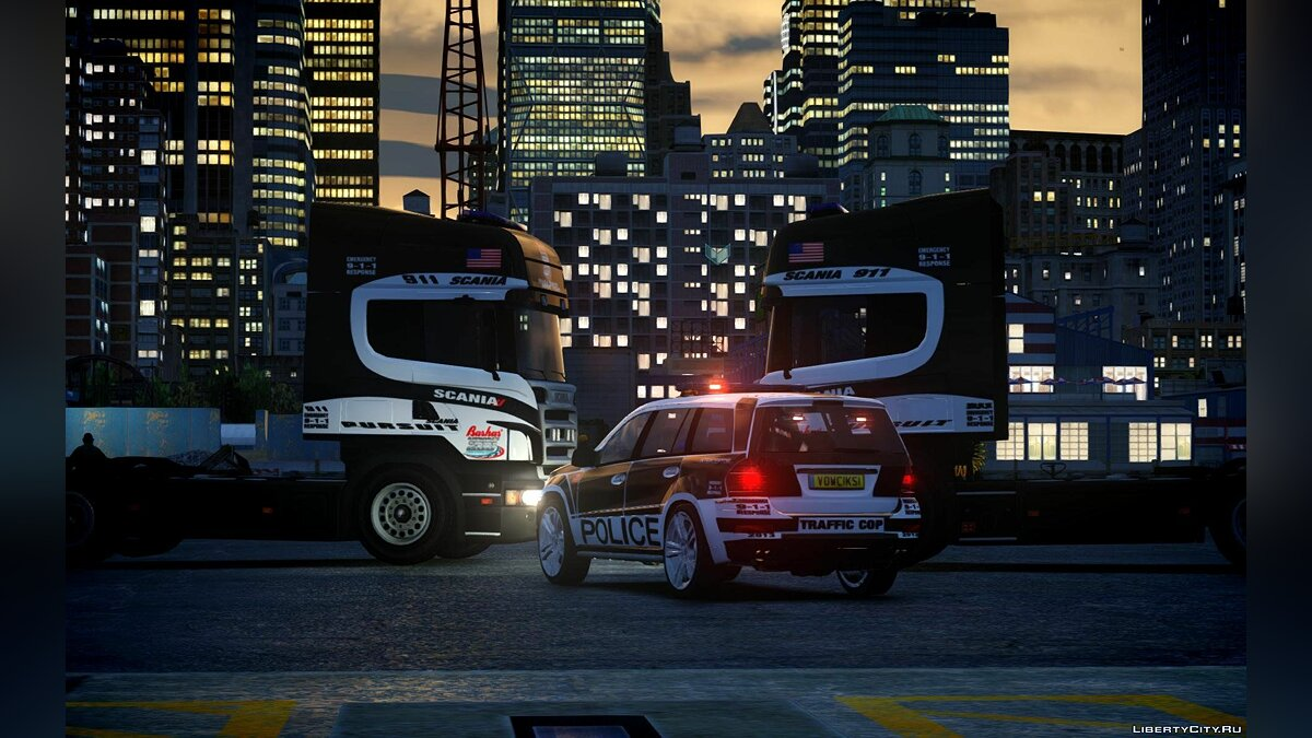 Mercedes AMG Police Interceptor 2013 для GTA 4