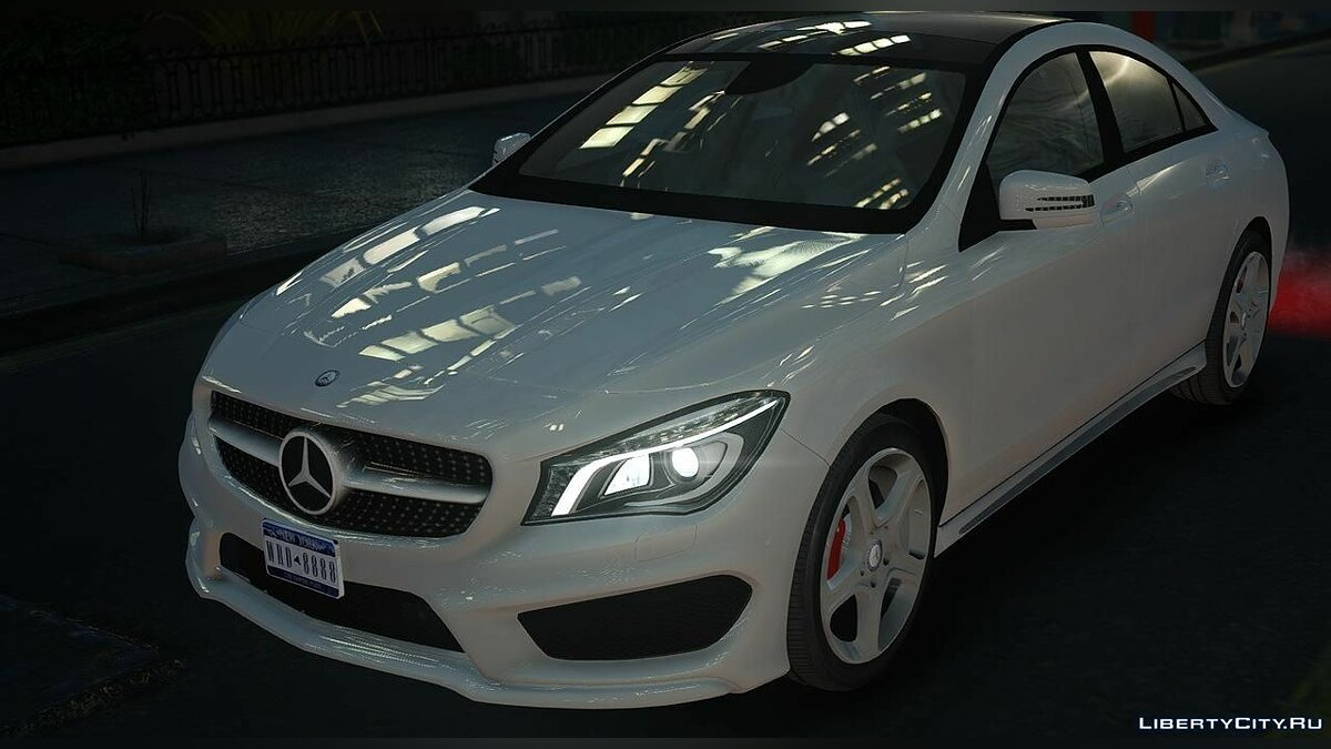 Mercedes Benz CLA 250 2016 для GTA 4