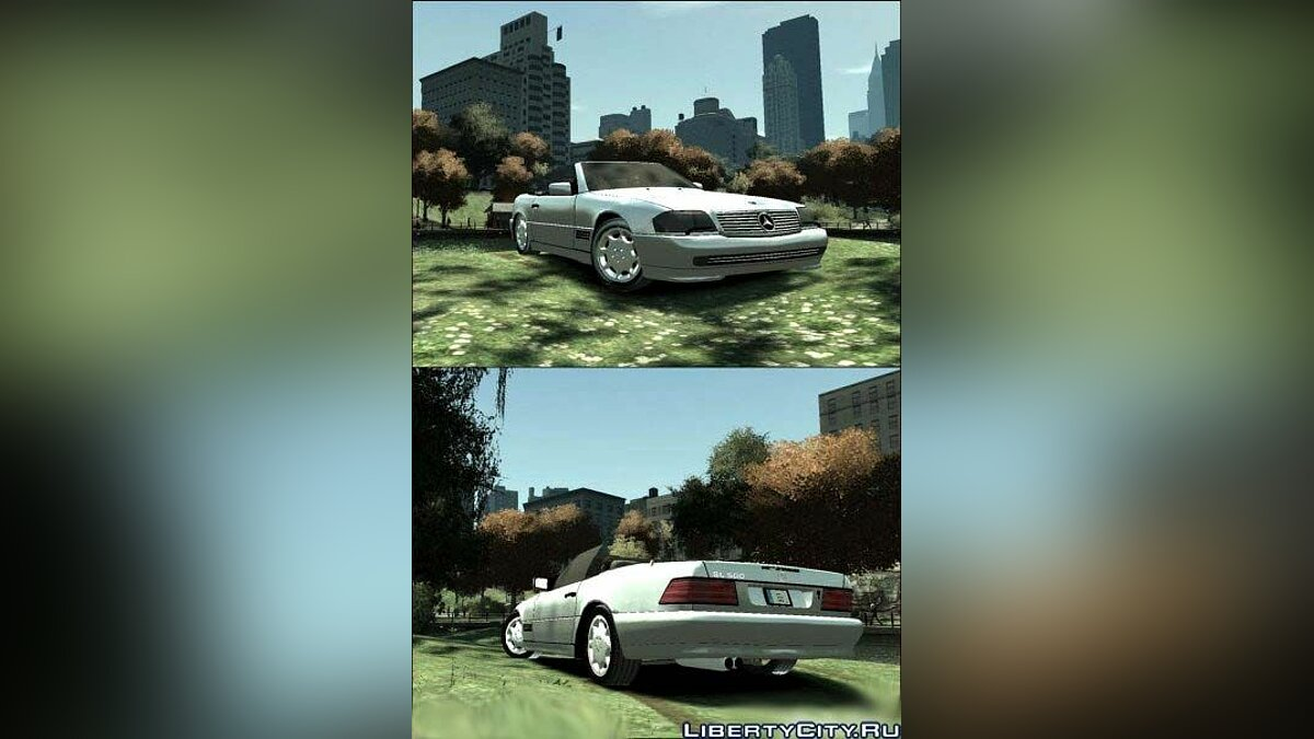 Mercedes Benz SL500 для GTA 4