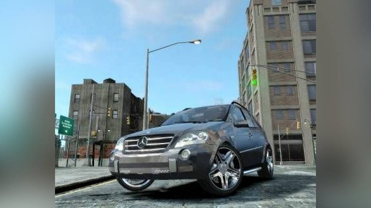 Mercedes Benz ML63 AMG v2 для GTA 4