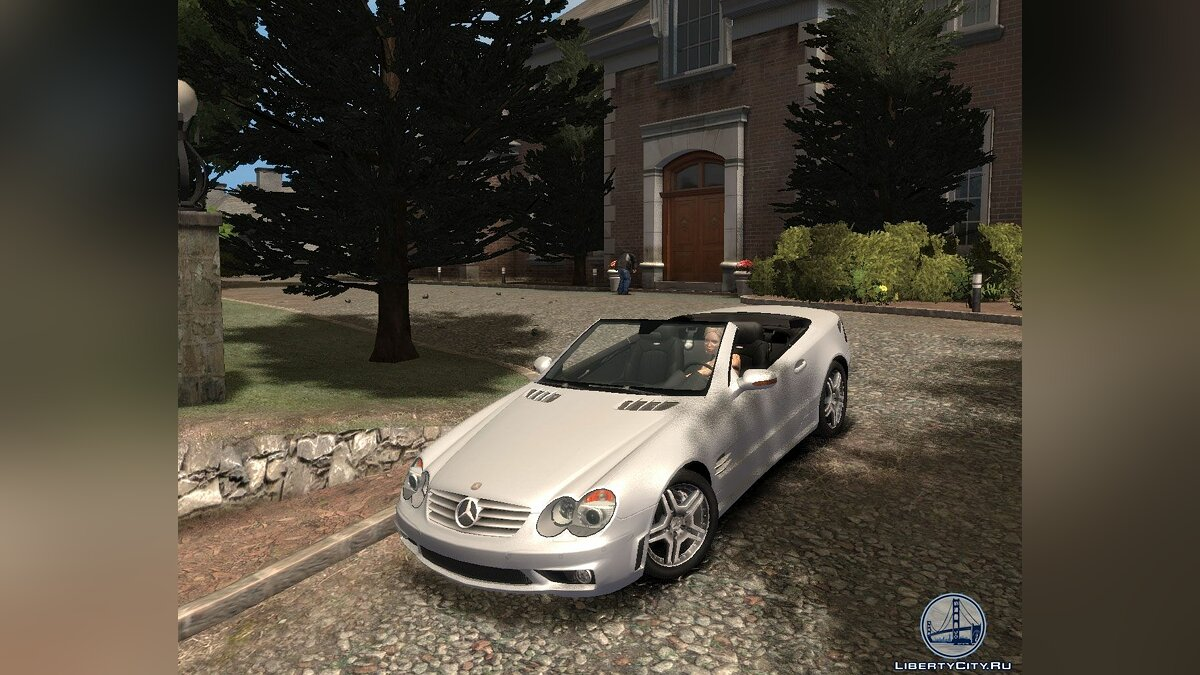 Mercedes-Benz SL65 для GTA 4