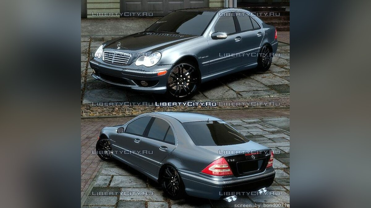 Mercedes-Benz C32 AMG Light Tun для GTA 4