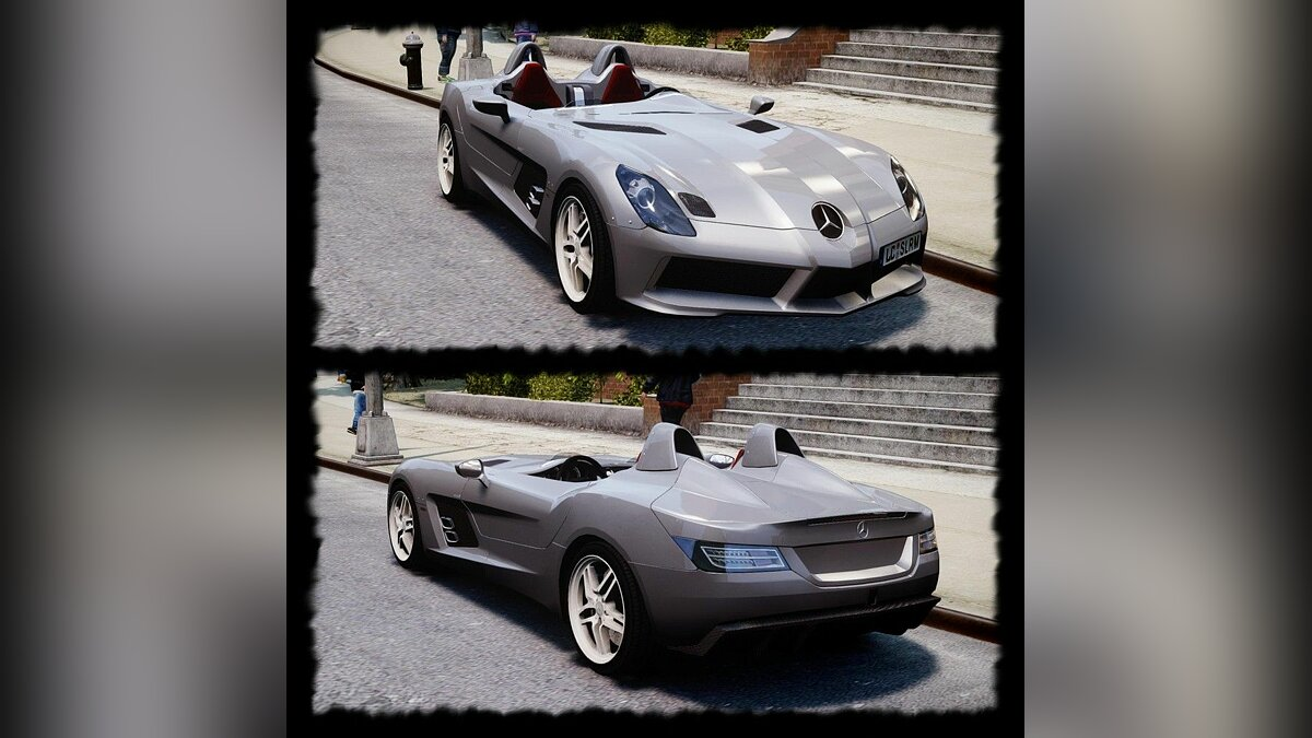 Mercedes-Benz SLR McLaren Stirling Moss [EPM] для GTA 4