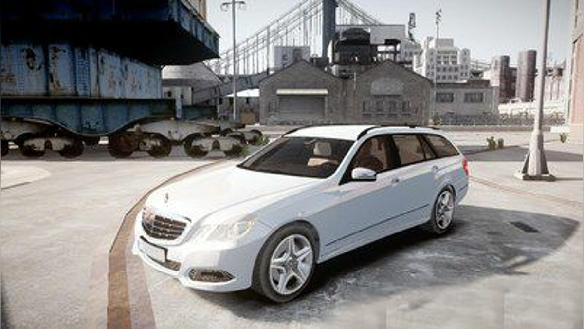 Mercedes Benz E Class Estate для GTA 4