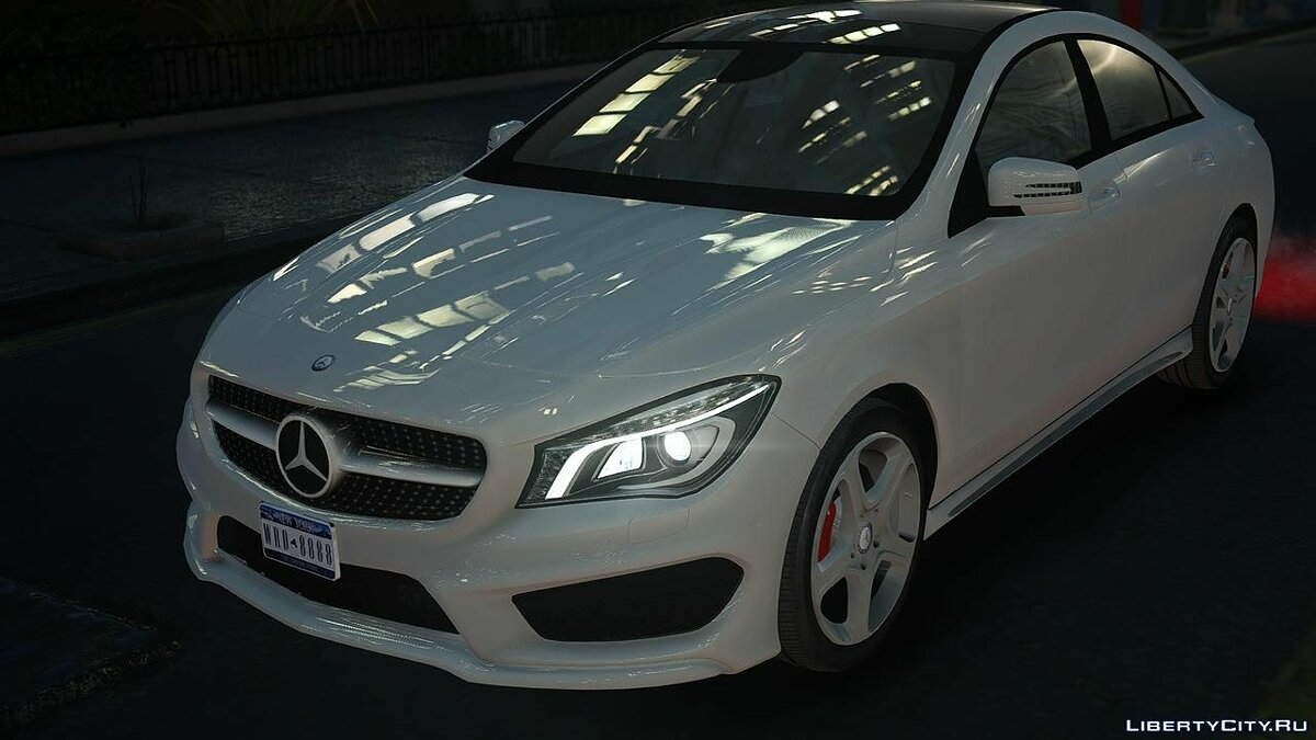 Mercedes-Benz CLA 250 2014 v1.0 для GTA 4