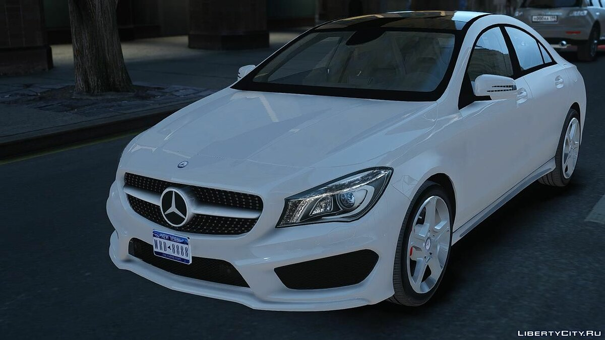Mercedes-Benz CLA 250 2014 v1.0 для GTA 4 - скриншот #3