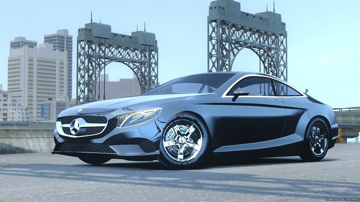 2015 Mercedes Benz S500 coupe для GTA 4 - скриншот #2