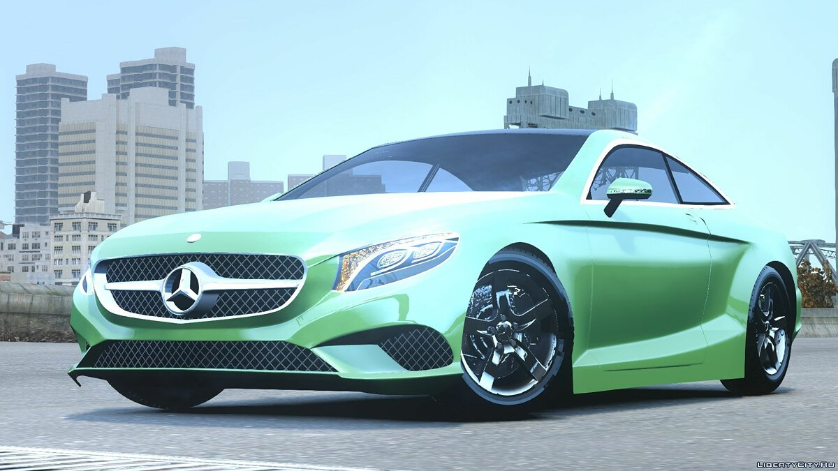 2015 Mercedes Benz S500 coupe для GTA 4