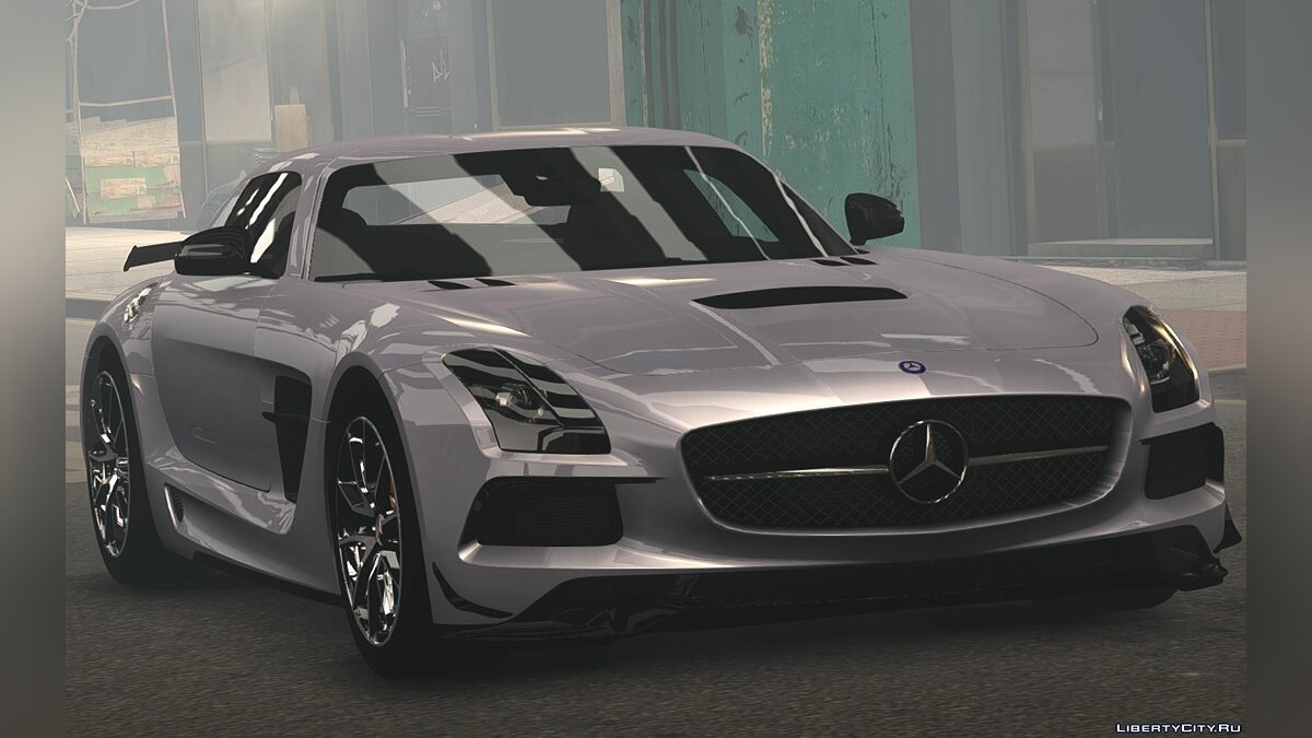2014 Mercedes-Benz SLS AMG Black Series для GTA 4