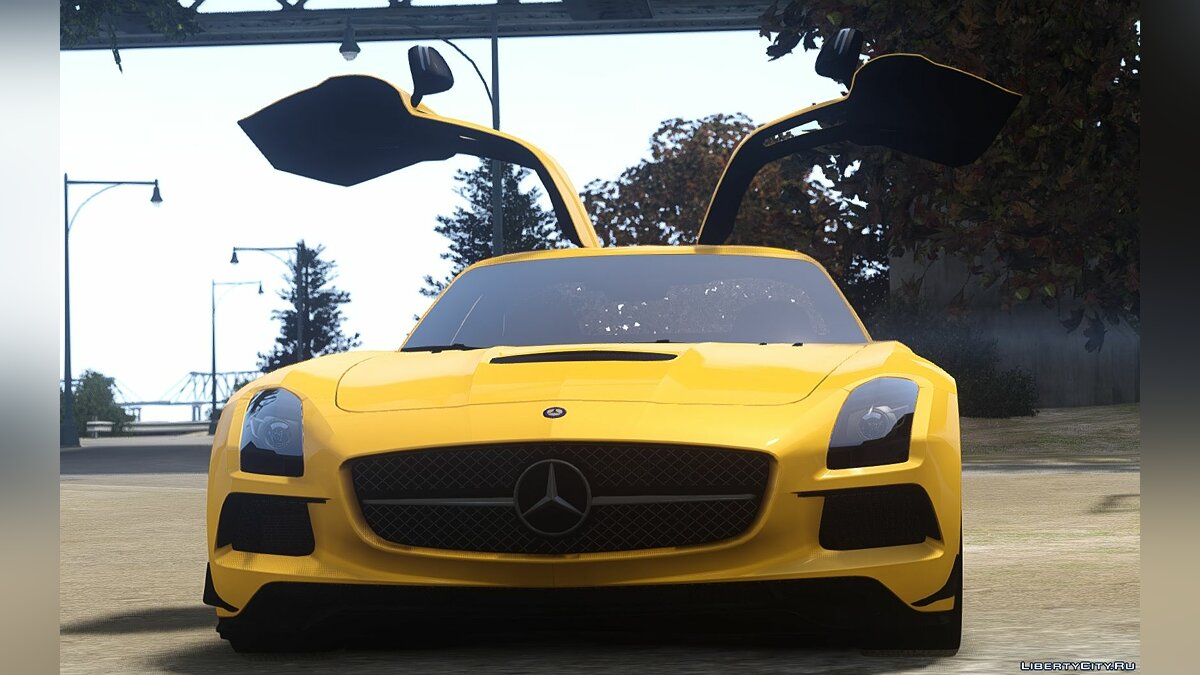2014 Mercedes-Benz SLS AMG Black Series для GTA 4 - скриншот #2