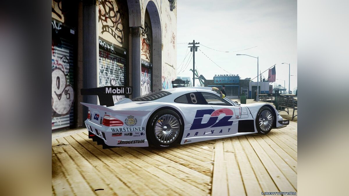 1998 Mercedes-Benz CLK LM + Sound 2.0 для GTA 4