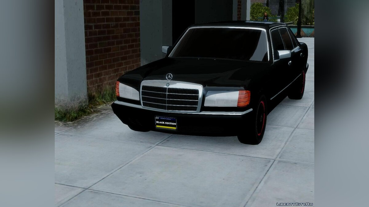 Mercedes-Benz W12 560 SEL Black Edition для GTA 4