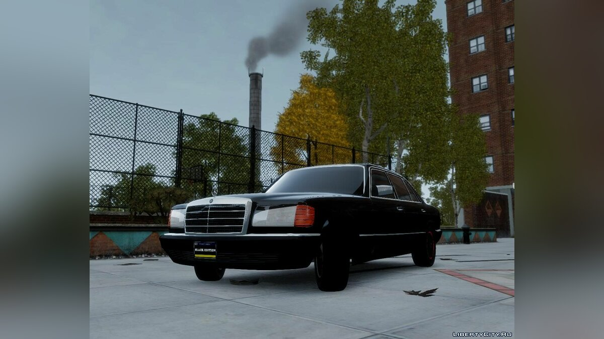 Mercedes-Benz W12 560 SEL Black Edition для GTA 4 - скриншот #4