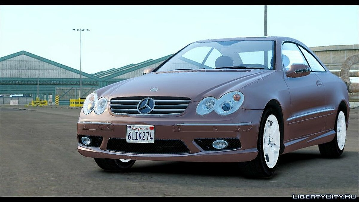 Mercedes-Benz CLK 55 AMG Stock для GTA 4