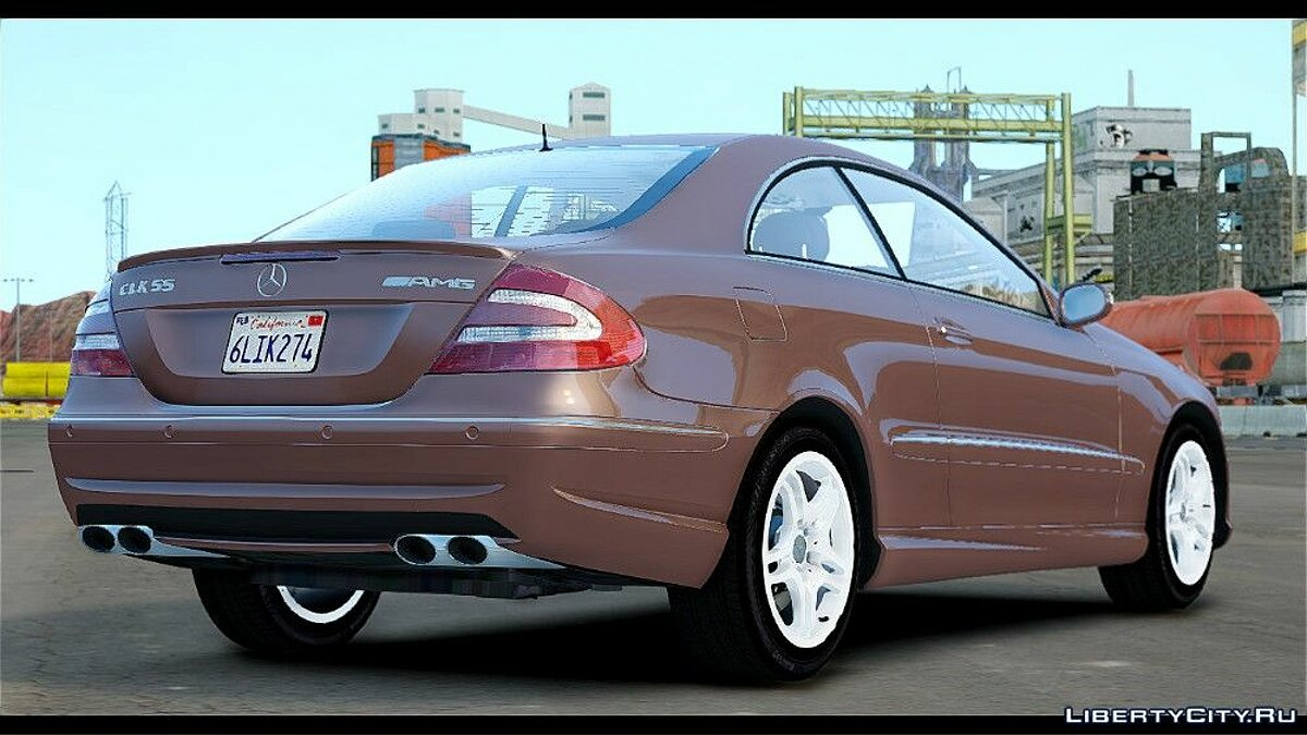 Mercedes-Benz CLK 55 AMG Stock для GTA 4 - скриншот #2