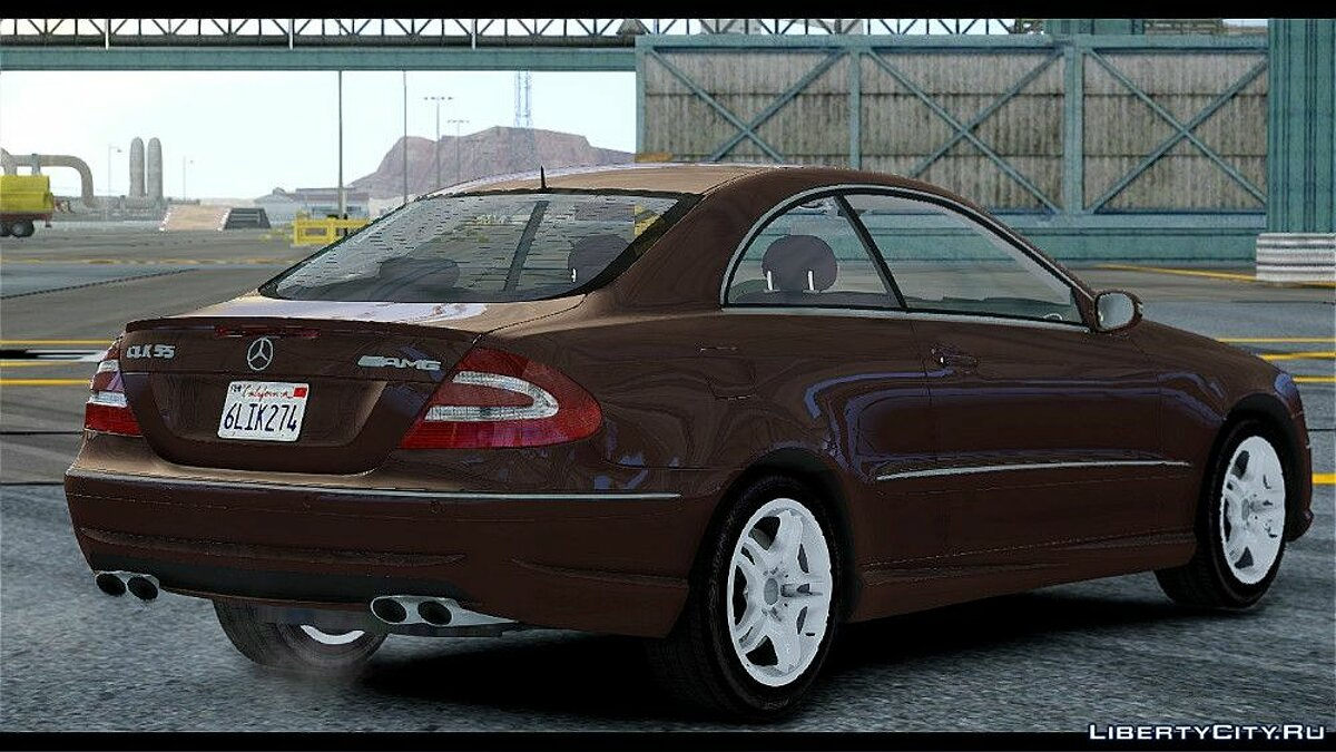 Mercedes-Benz CLK 55 AMG Stock для GTA 4 - скриншот #3