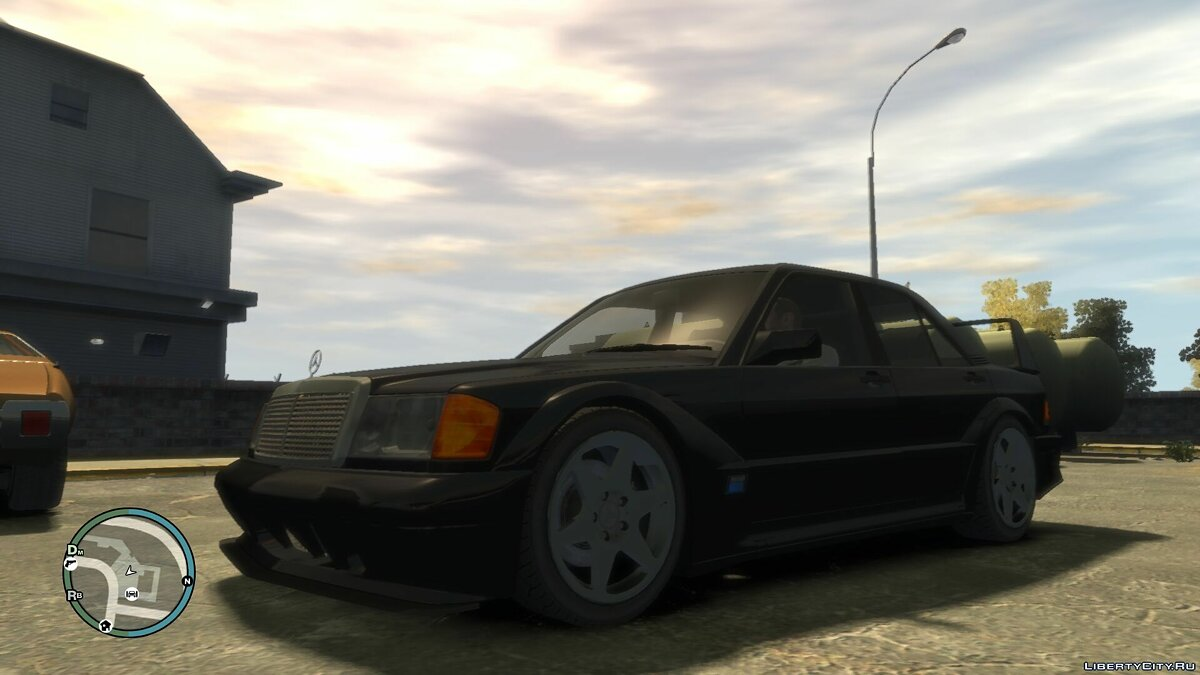 Mercedes Benz 190E Evolution II для GTA 4