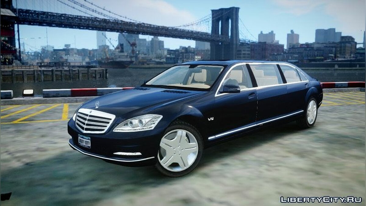 2011 Mercedes-Benz S600 Guard Pullman для GTA 4