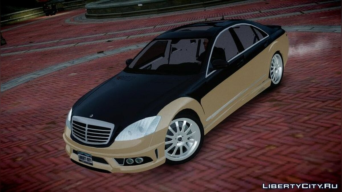 2008 Carlsson Aigner CK65 RS Blanchimont для GTA 4 - скриншот #2