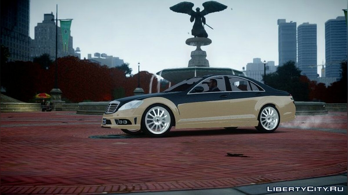 2008 Carlsson Aigner CK65 RS Blanchimont для GTA 4 - скриншот #3