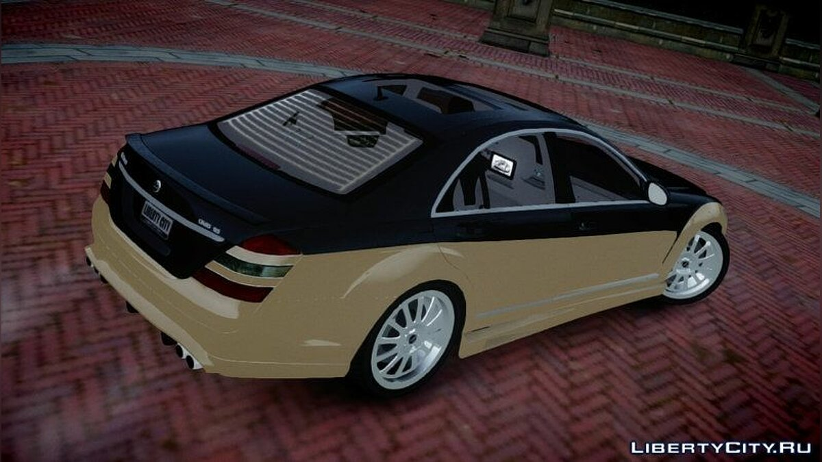 2008 Carlsson Aigner CK65 RS Blanchimont для GTA 4 - скриншот #4