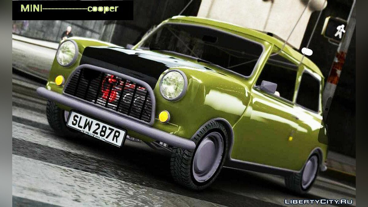 Машина Mini Mr. Bean's Mini Cooper для GTA 4
