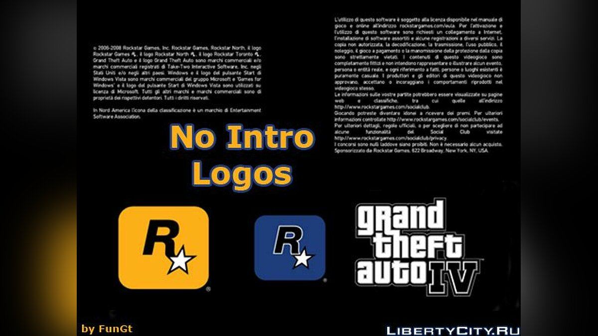 Skip Loading screens для GTA 4