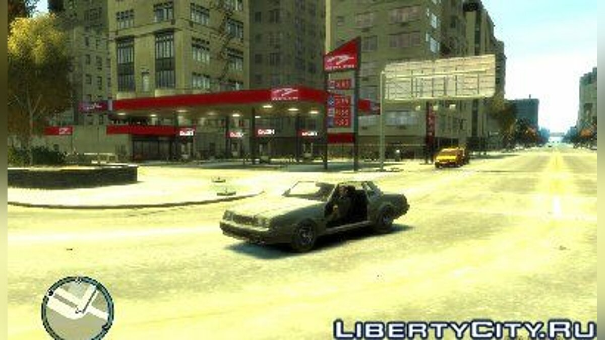 New gas station для GTA 4