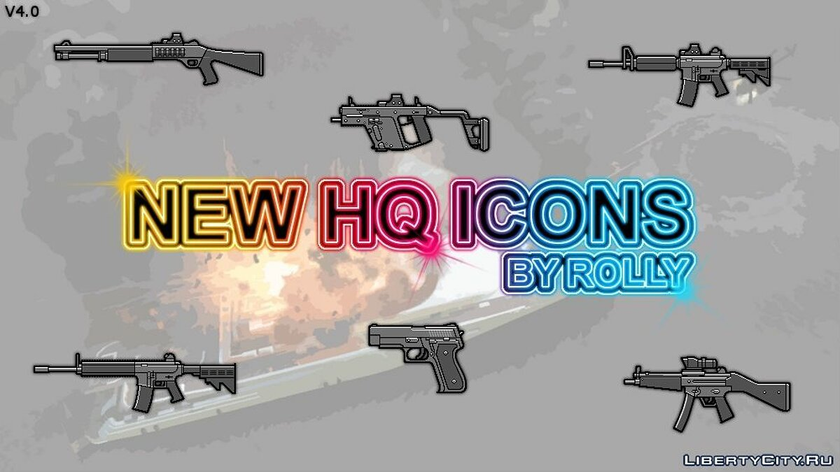 New HQ Icon for GTA IV v4.0 для GTA 4 - скриншот #4