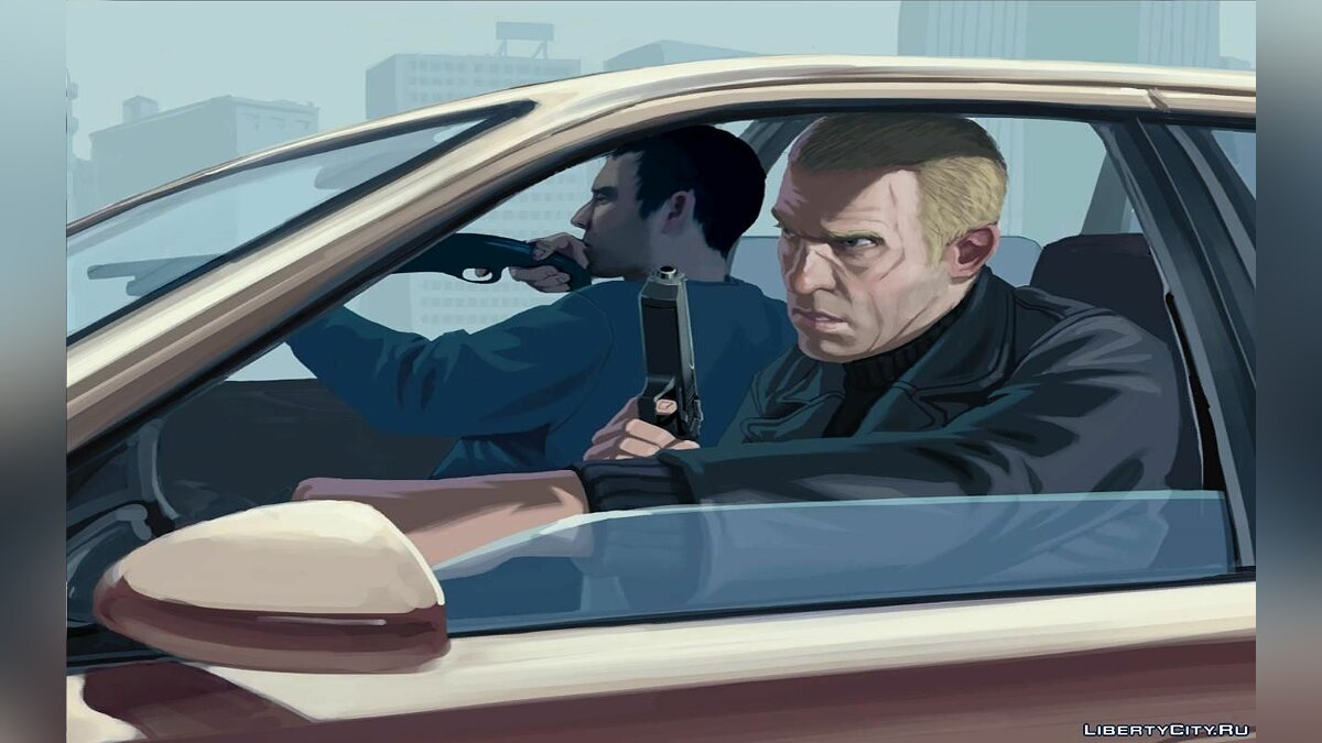 Мод Beta Loadscreens для GTA 4