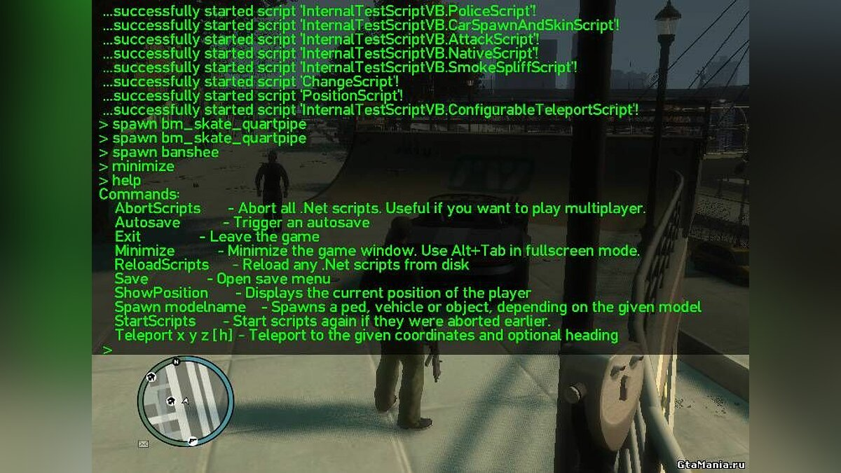 GTA IV .Net Script Hook v0.86 BETA для GTA 4