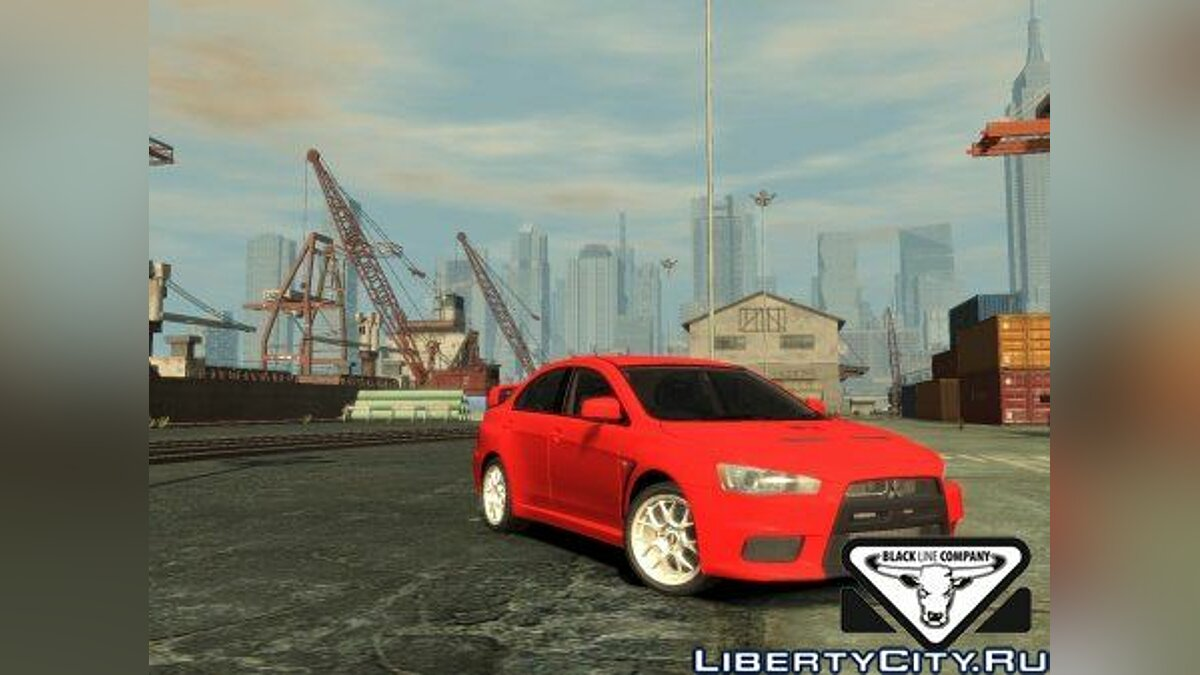 Mitsubishi Evolution X by P.A.S.H.A. для GTA 4