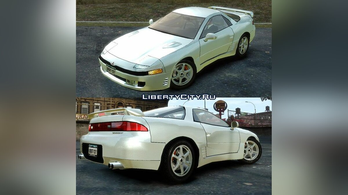 Mitsubishi GTO Twin Turbo для GTA 4
