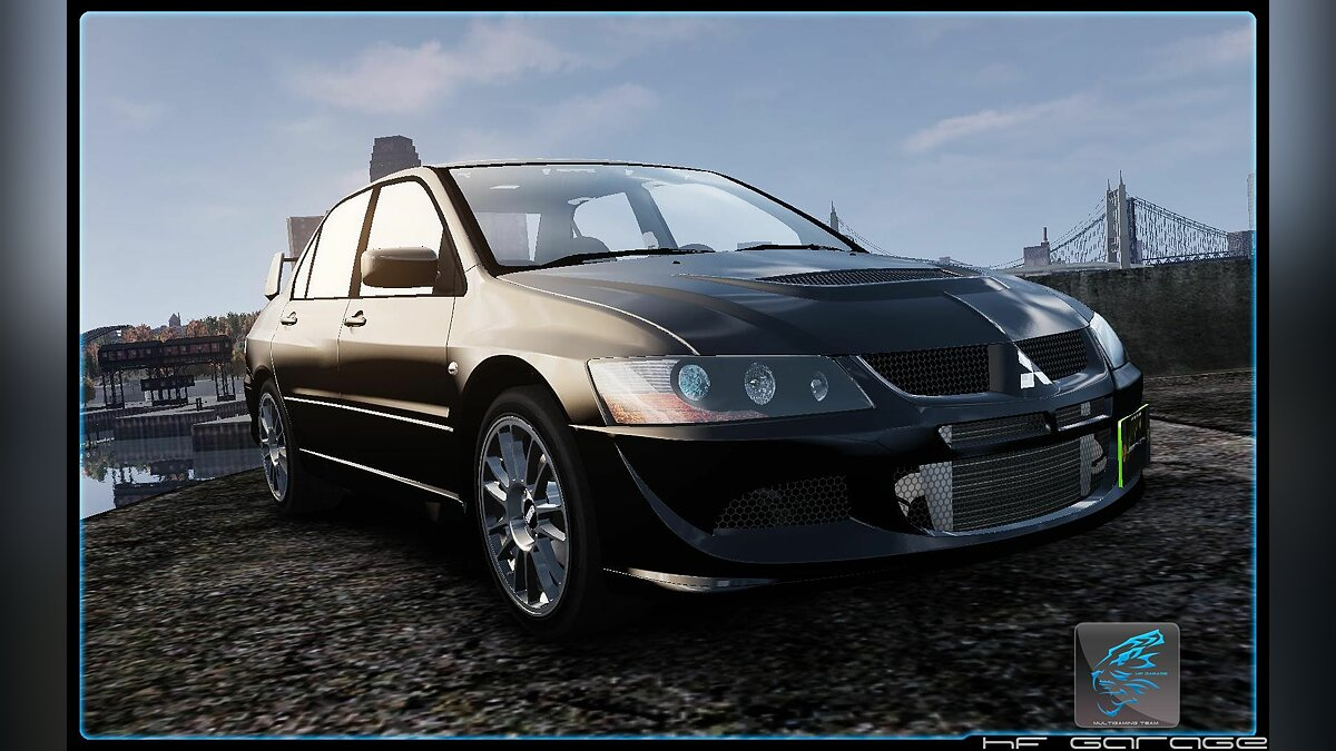 Mitsubishi Lancer Evolution MR VIII' 2004 для GTA 4