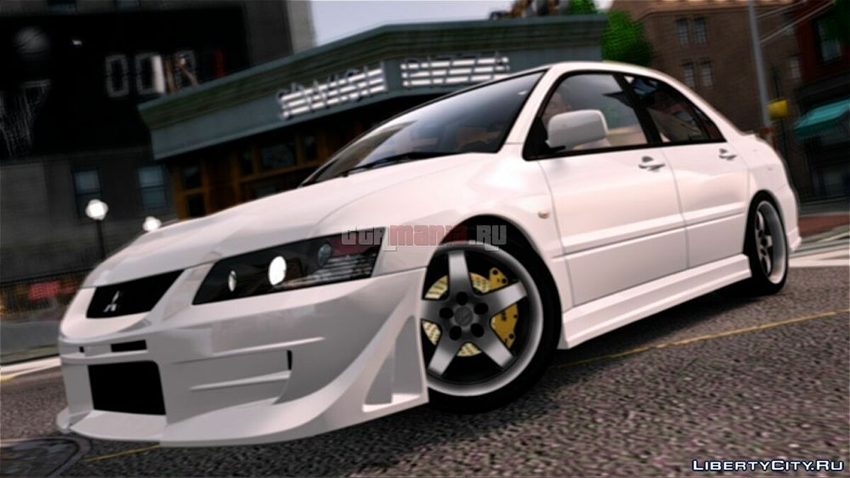 Mitsubishi Lancer Evolution IX [Beta] для GTA 4