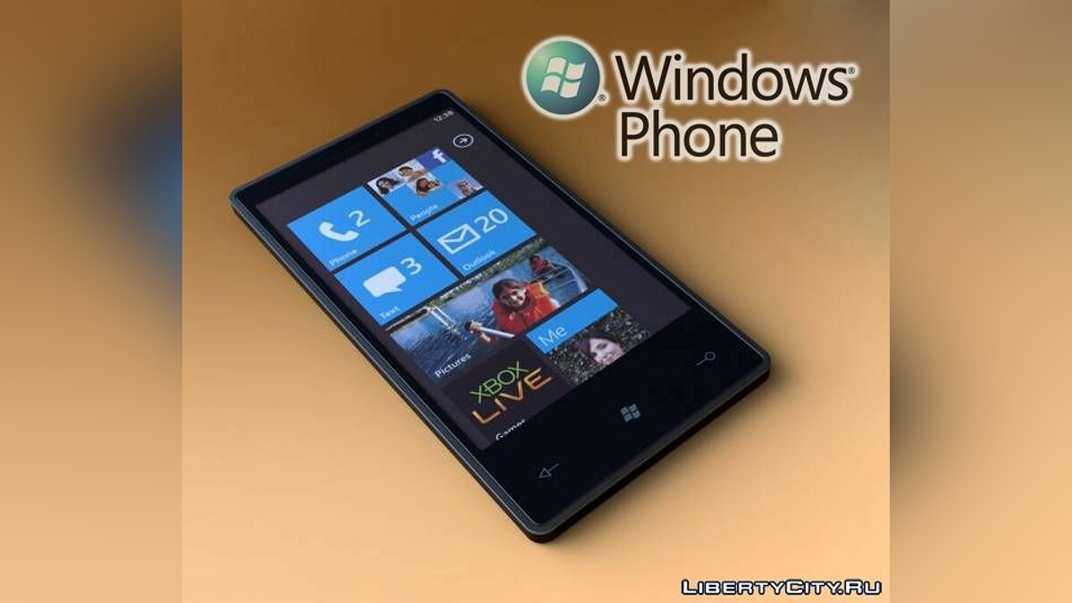 Мобильник Windows Phone 7 для GTA 4