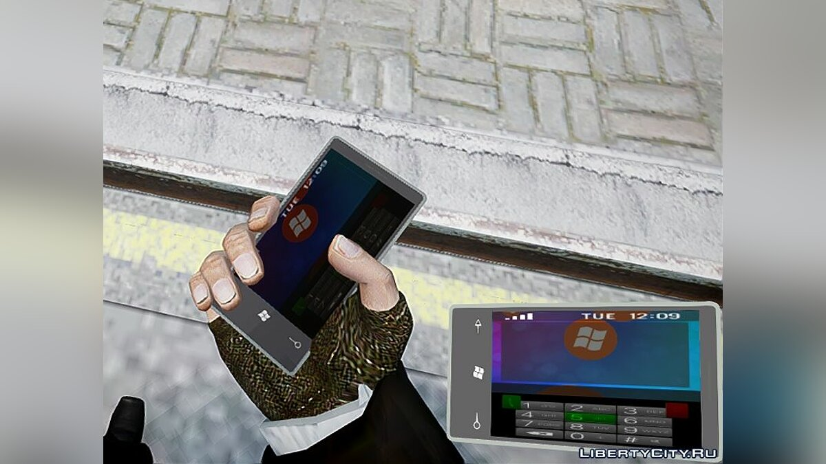 ��обильник Windows Phone 7 для GTA 4